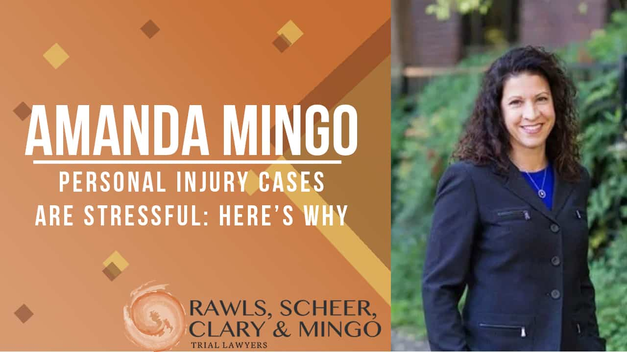 personal injury case stress